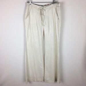 NWT Miss Me Linen Wide Leg Pants Large